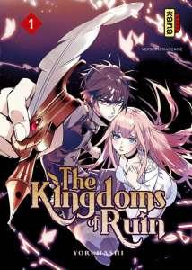 Kana dévoile les premières pages du manga The Kingdoms of Ruin