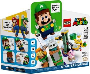 Pack de démarrage LEGO Super Mario version Luigi