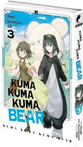 Le tome 3 du manga Kuma Kuma Kuma Bear arrive en juillet !