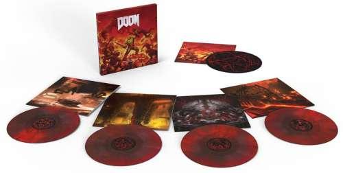 DOOM – Coffret 4 vinyles colorés édition limitée 5ème anniversaire