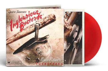 Quentin Tarantino's Inglouriou Basterds – Edition Limitée Vinyle Rouge Translucide