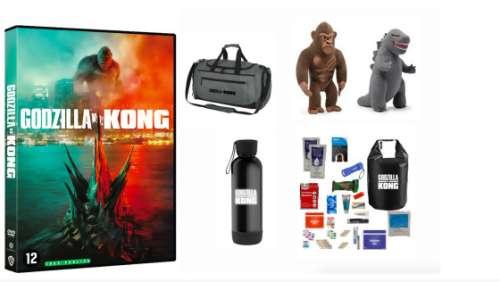 Concours Godzilla vs Kong – Gagner 3 DVD du film avec des goodies !
