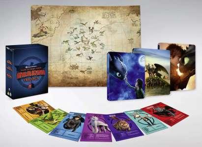 Trilogie Dragons – Coffret Steelbook 4K