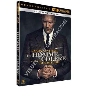 Un homme en colère – Steelbook Blu-ray 4K Ultra HD