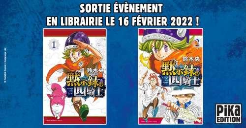 Le manga Four Knights of the Apocalypse annoncé par Pika !!