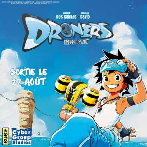 Le manga Droners aux éditions Kana !