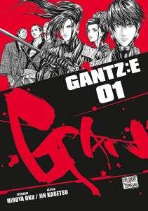 Le manga Gantz:E aux éditions Delcourt/Tonkam