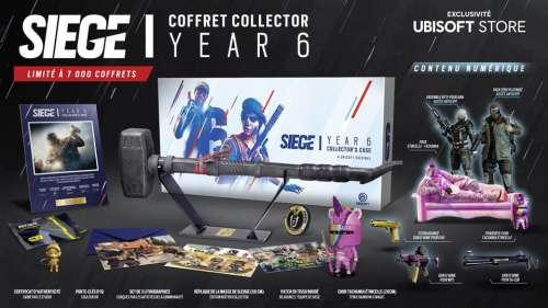 Coffret Collector Siege Year 6