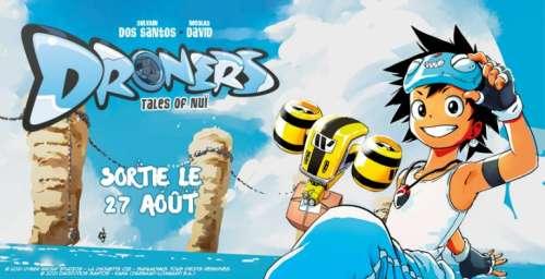 Avis Manga – Droners : Tales of Nu (tome 1)