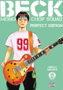 Le manga Beck aux éditions Delcourt/Tonkam