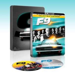 Fast And Furious 9 Steelbook Blu-ray