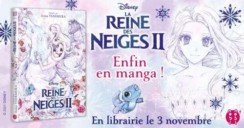 Le manga La Reine des Neiges II par nobi nobi!