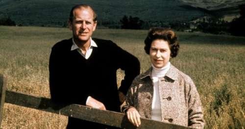 La reine Elizabeth II dévoile une photo personnelle avec le prince Philip