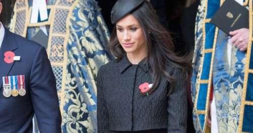 Comment Meghan Markle a rendu hommage à la reine pendant les funérailles?