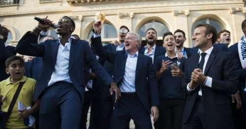 La drôle de promesse d'Emmanuel Macron aux Bleus en cas de victoire à l'Euro