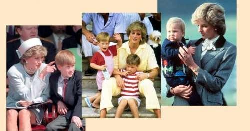 15 photos culte de Lady Di avec William et Harry