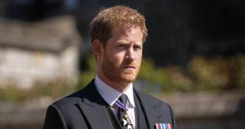Que contient la lettre du prince Harry à son père le prince Charles?