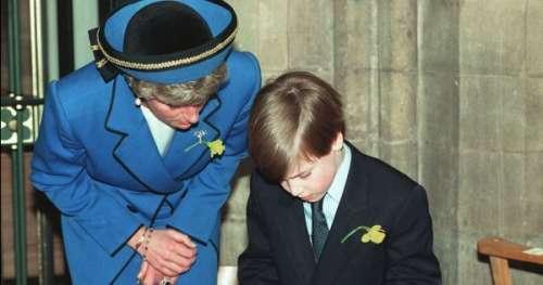 La promesse touchante à Lady Di que le prince William n'a pas pu tenir