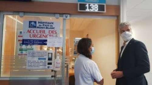 [VIDEO] Laurent Wauquiez annonce des aides post-Covid pour les Hôpitaux du Mont-Blanc