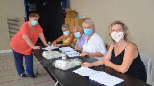 Deux nouvelles distributions de masques sont prévues