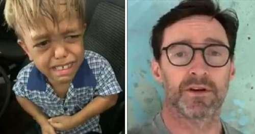 Hugh Jackman envoie un puissant message de soutien à Quaden Bayles, 9 ans, victime d'intimidation