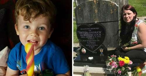 Garçon de 3 ans meurt dans son sommeil, la mère veut attirer l'attention sur ce danger inconnu
