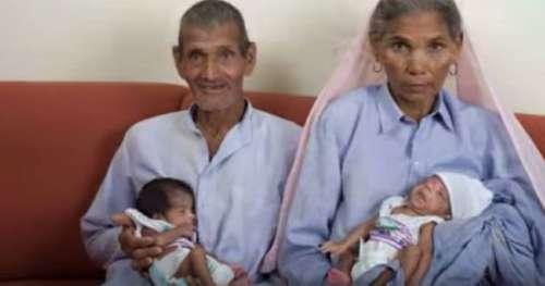 Omkari, âgée de 70 ans, est devenue la plus vieille mère du monde en donnant naissance à des jumeaux il y a 12 ans – voici comment vit la famille aujourd'hui