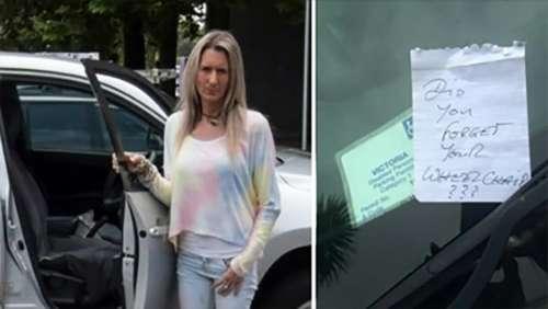 Une femme atteinte de sclérose en plaques se gare dans une baie pour handicapés et revient découvrir une note cruelle sur sa voiture