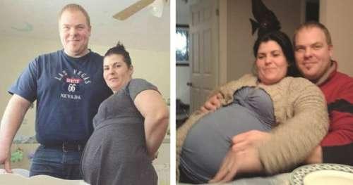 Ce père emmène sa petite amie en salle d'accouchement pour donner naissance à des quintuplés, mais la sage-femme dévoile un gros mensonge
