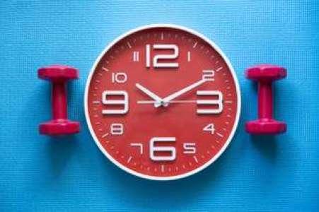 Rythme chronobiologique : quelle est la meilleure heure pour faire du sport ?
