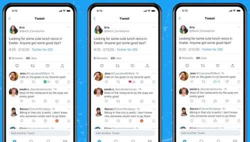 Twitter teste sur iOS un bouton «Je n'aime pas», façon Reddit
