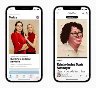 Apple annonce ses initiatives à l'occasion de la journée internationale des droits des femmes
