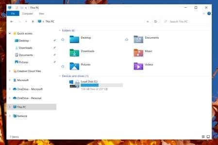 Microsoft a redessiné les icônes de l'Explorateur de Windows 10