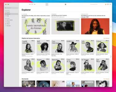 AppleMusic et AppleTV+ multiplient les initiatives pour la Journée internationale des droits des femmes