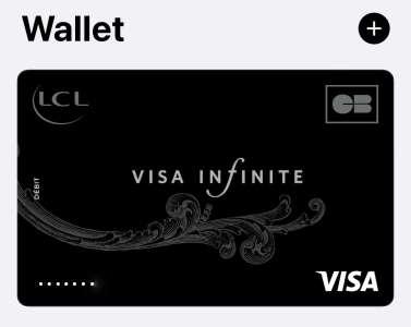ApplePay : LCL active le réseau Visa et les paiements en ligne et à l'étranger 🆕