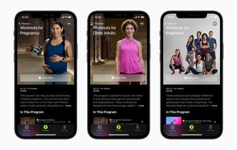Apple Fitness+ va s'enrichir d'entraînements pour les femmes enceintes et les personnes âgées