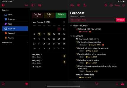 OmniFocus4 se dévoile sur iOS avec une toute nouvelle interface