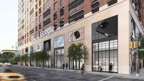 Le premier Google Store ouvre cet été à New York