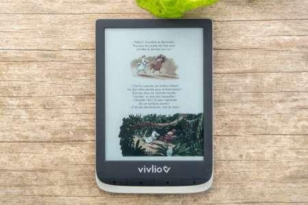 Vivlio Color: test de la première liseuse en couleurs avec l'écran E Ink Kaleido