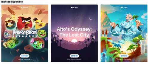 Angry Birds, Alto's Odyssey, Doodle God : Apple Arcade recycle trois «classiques»