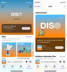 Petit tour d'horizon des chaînes françaises freemium sur Apple Podcasts
