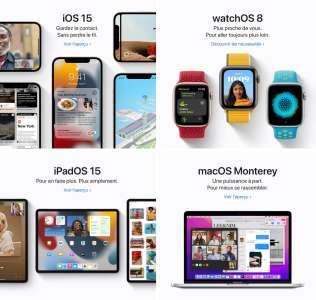 Apple a traduit les aperçus de ses prochains systèmes