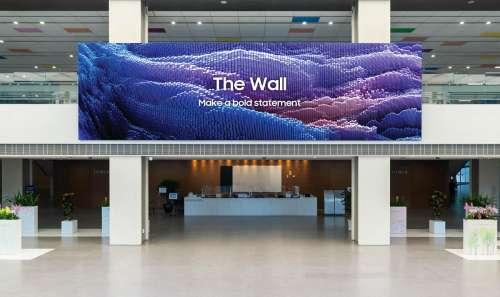 The Wall : Samsung dévoile une nouvelle version de son immense écran de 1 000 pouces