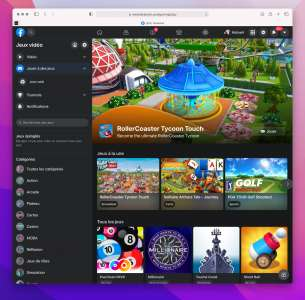 Le jeu vidéo en streaming de Facebook Gaming toujours en chantier sur iOS