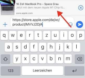 En Allemagne, l'AppleStore évoque un MacBookPro 16 pouces équipé M1 (ça sent le bug)