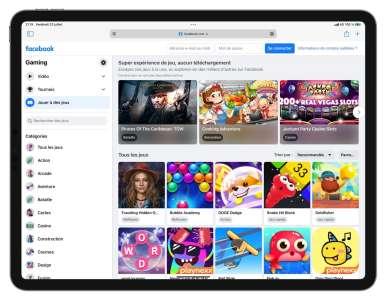Facebook Gaming se résigne à son tour à passer par une web app sur iOS
