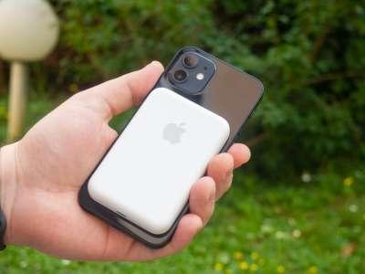 Aperçu de la batterie externe MagSafe d'Apple