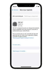 iOS 14.7 disponible en version finale avec la prise en charge de la Batterie MagSafe