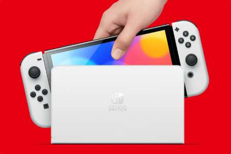 Nintendo annonce une nouvelle Switch OLED