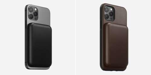 Nomad présente sa coque en cuir pour la batterie externe MagSafe d'Apple